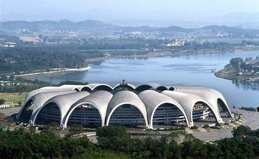 Фото стадион «Первого мая» в Пхеньяне