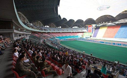 Фото-2 стадион «Первого мая» в Пхеньяне