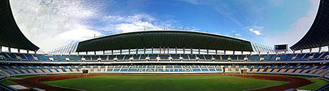 Панорама Паларан Стэдиум (Palaran stadium)     Фото: Brahmana Sued