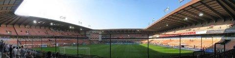 Панорама Стадион Констант Ванден Сток (Constant Vanden Stock Stadium)