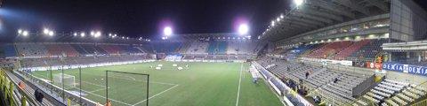Паонорама стадиона Ян Брейдел (Jan Breydel Stadium)