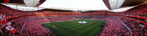 Панорама-2 стадиона Эмирейтс, Лондон (Emirates Stadium)