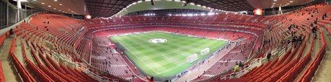 Панорама-3 стадиона Эмирейтс, Лондон (Emirates Stadium)