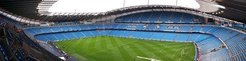 Панорама стадиона Этихад Стэдиум, Манчестер (Etihad Stadium)
