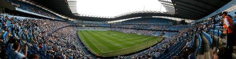 Панорама-2 стадиона Этихад Стэдиум, Манчестер (Etihad Stadium)