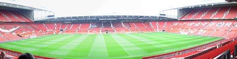 Панорама стадиона Олд Траффорд, Манчестер (Old Trafford)