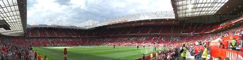 Панорама-2 стадиона Олд Траффорд, Манчестер (Old Trafford)