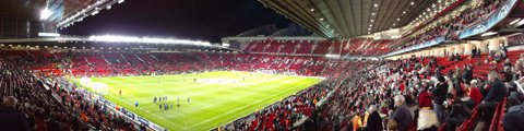 Панорама-3 стадиона Олд Траффорд, Манчестер (Old Trafford)