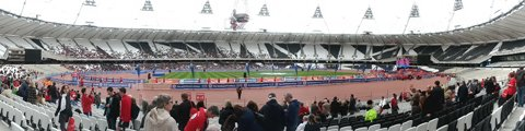 Панорама-2 Олимпийского стадиона в Лондоне (Olympic Stadium London)