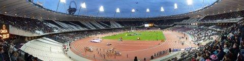 Панорама-3 Олимпийского стадиона в Лондоне (Olympic Stadium London)