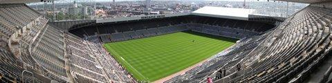 Панорама-2 стадиона Сент-Джеймс Парк, Ньюкасл (St James' Park)