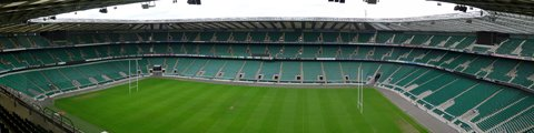 Панорама стадиона Туикенем, Лондон (Twickenham Stadium)