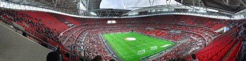 Панорама-2 стадиона Уэмбли, Лондон (Wembley Stadium)