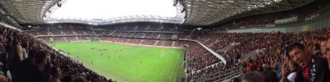 Панорама стадиона Альянц Ривьера, Ницца (Allianz Riviera)