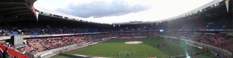 Панорама стадиона Парк де Пренс, Париж (Parc des Princes)