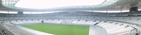 Панорама стадиона Стад де Франс, Париж (Stade de France)