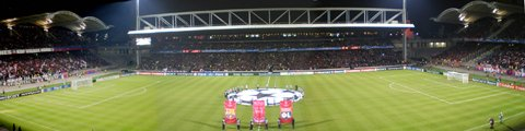 Панорама стадиона Жерлан, Лион (Stade de Gerland)