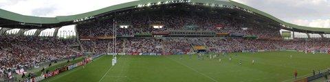 Панорама стадиона Божуар–Луи Фонтено, Нант (Stade de la Beaujoire–Louis Fonteneau)