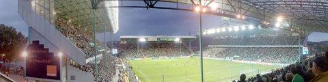 Панорама стадиона Жоффруа Гишар, Сент-Этьен (Stade Geoffroy-Guichard)