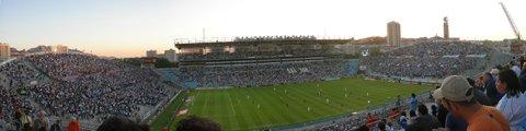 Панорама стадиона Велодром, Марсель (Stade Velodrome)