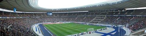 Панорама 2 Олимпийского стадиона в Берлине (Olympiastadion Berlin)