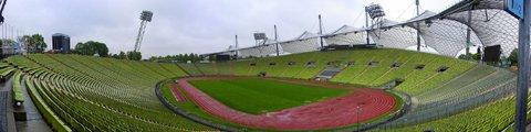 Панорама Олимпийский стадион, Мюнхен (Olympic Stadium, Munich)