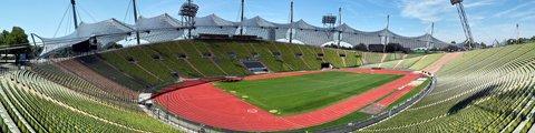 Панорама-2 Олимпийский стадион, Мюнхен (Olympic Stadium, Munich)