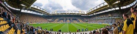 Панорама стадиона Сигнал Идуна Парк (Signal Iduna Park)