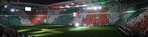 Панорама стадиона Ювентус (Juventus Stadium)