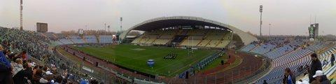 Панорама стадиона Фриули (stadio Friuli)