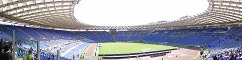 Панорама Олимпийского стадиона в Риме (Stadio Olimpico Rome)