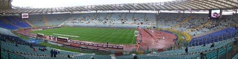 Панорама-2 Олимпийского стадиона в Риме (Stadio Olimpico Rome)