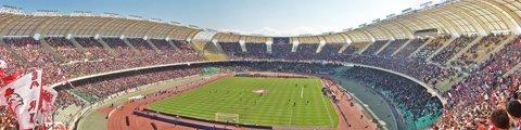 Панорама стадиона Сан-Никола (Stadio San Nicola)