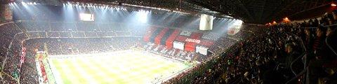 Панорама Стадион Джузеппе Меацца (Stadio Giuseppe Meazza)