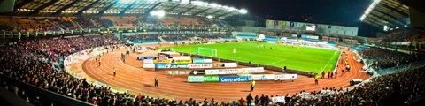 Панорама-2 стадиона Сьюдад де Коимбра, Коимбра (Estadio Cidade de Coimbra)