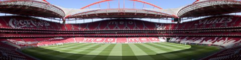 Панорама стадиона Эштадиу да Луш, Лиссабон (Estadio da Luz)