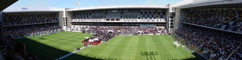Панорама стадиона Бесса XXI, Порту (Estadio do Bessa XXI)