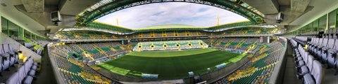 Панорама-2 стадиона Жозе Алваладе, Лиссабон (Estadio Jose Alvalade)