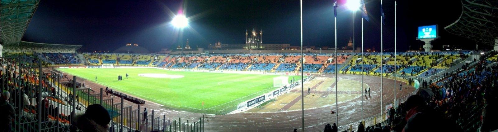 Стадион центральный казань схема 696