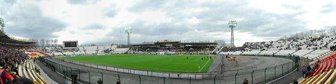 Панорама республиканского стадиона «Спартак», Владикавказ. Автор: Farniev_Kostya