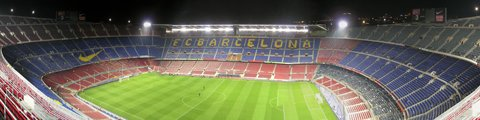 Панорама-2 стадиона Камп Ноу (Camp Nou stadium)