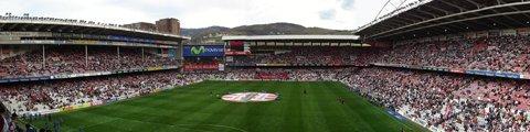 Панорама стадиона Сан-Мамес