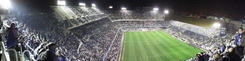 Панорама стадиона Месталья