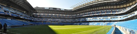 Панорама стадиона Сантьяго Бернабеу