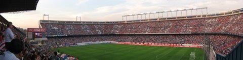 Панорама стадиона Висенте Кальдерон
