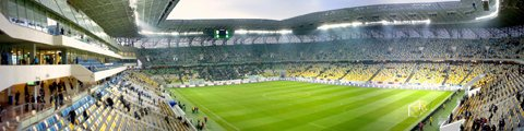 Панорама стадиона Арена Львов (Arena Lviv)