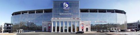 Панорама стадиона Черноморец (Chornomorets Stadium)