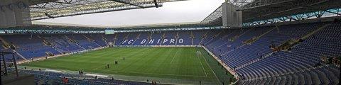Панорама стадиона Днепр-Арена (Dnipro-Arena stadium)