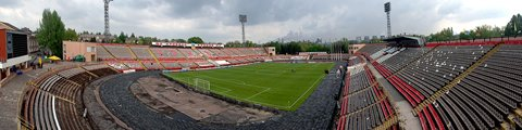 Панорама-2 стадиона Металлург (Metalurh Stadium)