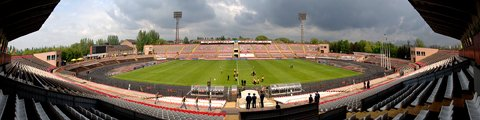 Панорама стадиона Металлург (Metalurh Stadium)